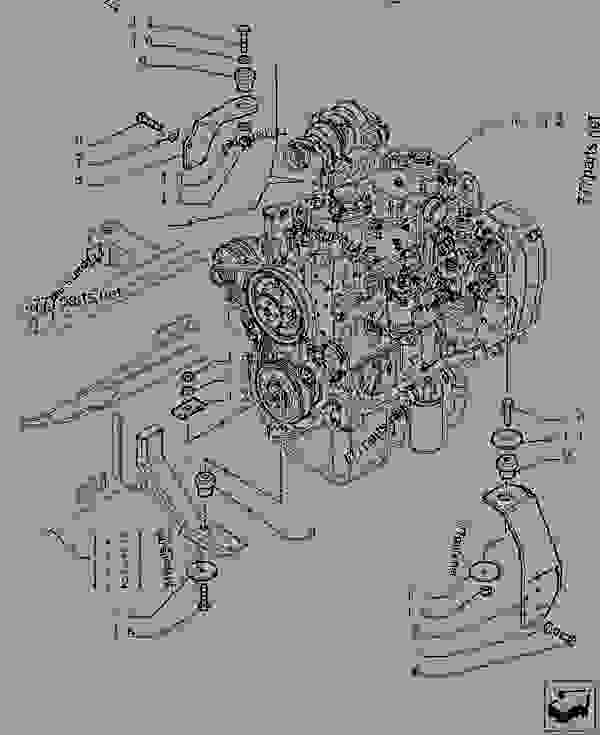 Parts scheme ENGINE AND TRANSMISSION SUPPORT - TELESCOPIC HANDLERS Case TX170-45 TIER 3 - TELEHANDLER (TURBO) (6/07-12/14) 18 MISCELLANEOUS ENGINE AND TRANSMISSION SUPPORT | 777parts