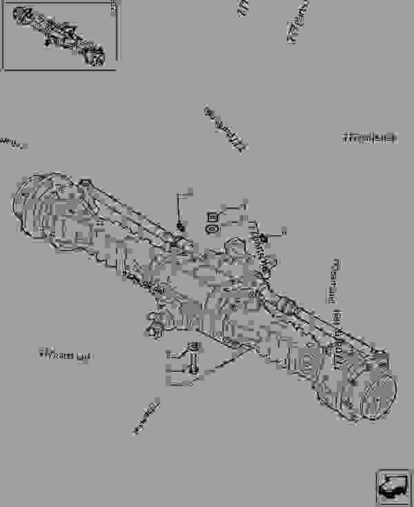 Parts scheme FRONT AXLE - OPTIONAL CODE 749082081 - TELESCOPIC HANDLERS Case TX742 - TELEHANDLER (7/07-12/14) 25 FRONT AXLE SYSTEM FRONT AXLE - OPTIONAL CODE 749082081 | 777parts