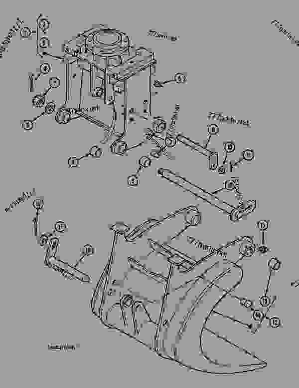 Parts scheme WOOD GRAB - CRAWLER DOZERS Case 1088FG - CASE ELECTRIC EXCAVATOR - PORTUGAL (90KW 380V) (1/88-12/94) No Description WOOD GRAB | 777parts