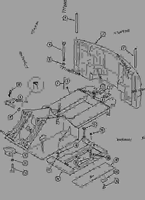 Parts scheme UPPERSTRUCTURE CHASSIS - CRAWLER EXCAVATORS Case 1288LC - CASE CRAWLER EXCAVATOR (S/N CGG0022201 & AFTER) (9/91-12/02) 09 CHASSIS UPPERSTRUCTURE CHASSIS | 777parts