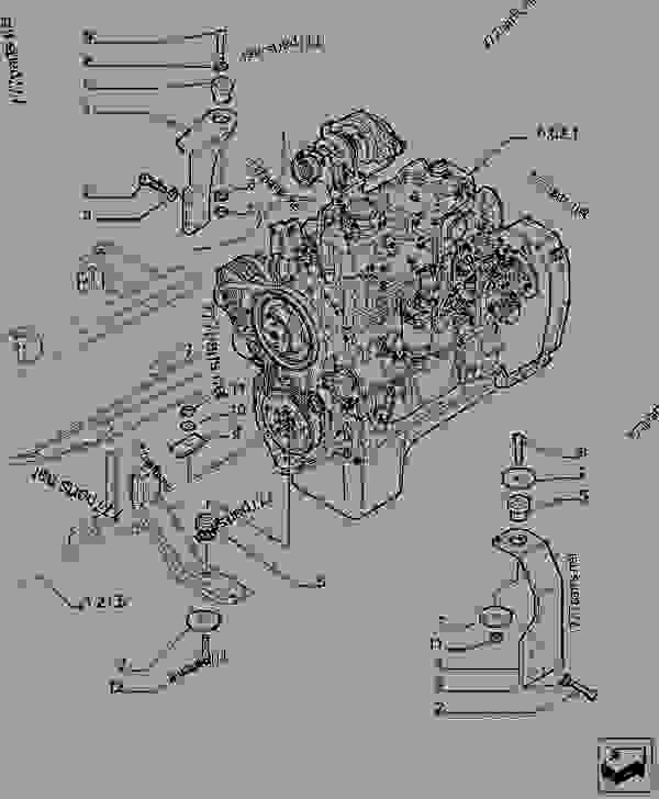 Parts scheme ENGINE AND TRANSMISSION SUPPORT - TELESCOPIC HANDLERS Case TX742 - TELEHANDLER (7/07-12/14) 21 TRANSMISSION ENGINE AND TRANSMISSION SUPPORT | 777parts