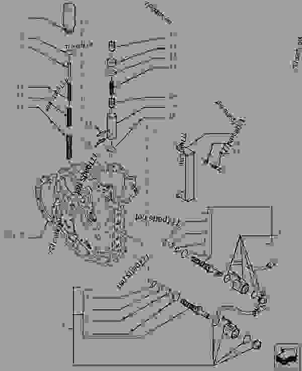 Parts scheme TRANSMISSION - COMPONENTS - TELESCOPIC HANDLERS Case TX742 - TELEHANDLER (7/07-12/14) 21 TRANSMISSION TRANSMISSION - COMPONENTS | 777parts