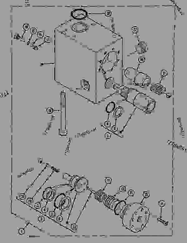 Parts scheme LOAD HOLDING VALVE - BOOM - CRAWLER DOZERS Case 1088 - CASE EXCAVATOR ATTACHMENTS (1/88-12/94) 07.1 HYDRAULIC ATTACHMENT COMPONENTS LOAD HOLDING VALVE - BOOM | 777parts
