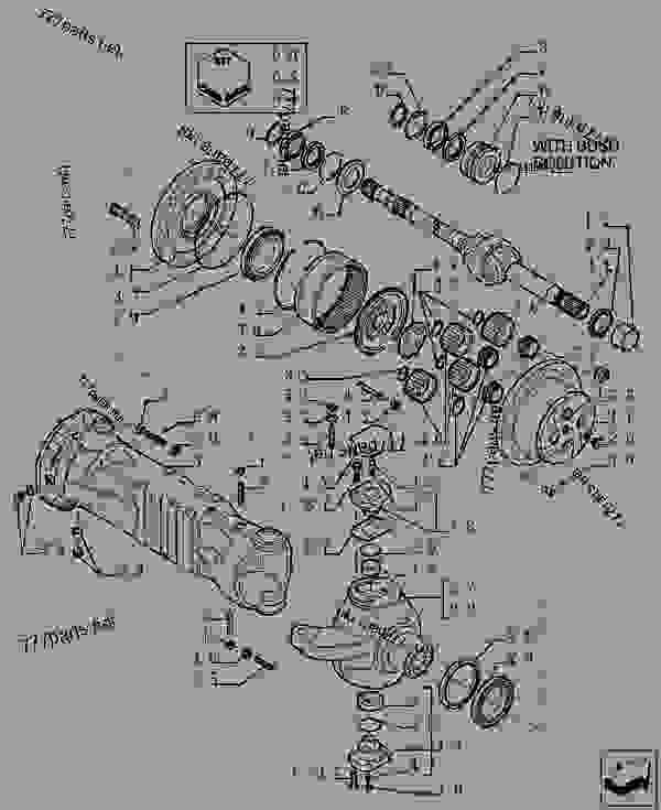 Parts scheme REDUCTION - FRONT AXLE - OPTIONAL CODE 749082051 - UP TO S/N 01-GEN-2017 - TELESCOPIC HANDLERS Case TX170-45 TIER 3 - TELEHANDLER (TURBO) (6/07-12/14) 18 MISCELLANEOUS REDUCTION - FRONT AXLE - OPTIONAL CODE 749082051 - UP TO S/N 01-GEN-2017 | 777parts