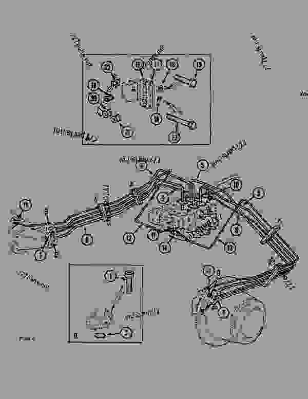 Parts scheme UNDERCARRIAGE CIRCUIT - CRAWLER DOZERS Case 1088CK - CASE HYDRAULIC CRAWLER EXCAVATOR (S/N 17001 & AFTER) (1/89-12/92) 07.1 UNDERCARRIAGE HYDRAULICS UNDERCARRIAGE CIRCUIT | 777parts