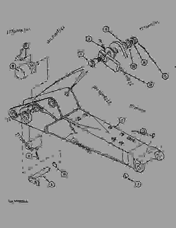 Parts scheme ADJUSTABLE MAIN BOOM - CRAWLER DOZERS Case 1088 - CASE EXCAVATOR - ADJUSTABLE BOOM (1/88-12/94) No Description ADJUSTABLE MAIN BOOM | 777parts
