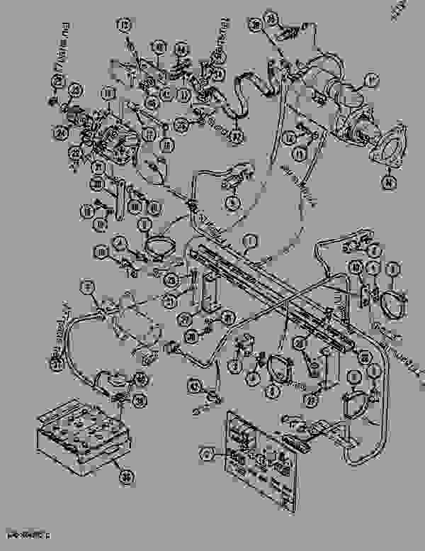 Parts scheme ENGINE ELECTRIC CIRCUIT - CRAWLER EXCAVATORS Case 1288LC - CASE CRAWLER EXCAVATOR - FRENCH ARMY (9/91-12/02) No Description ENGINE ELECTRIC CIRCUIT | 777parts