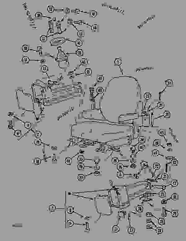 Parts scheme HAND CONTROL ARMS AND SEAT - CRAWLER DOZERS Case 1088CK - CASE HYDRAULIC CRAWLER EXCAVATOR (S/N 17001 & AFTER) (1/89-12/92) 05.1 UPPERSTRUCTURE CHASSIS/ATTACHMENTS HAND CONTROL ARMS AND SEAT | 777parts