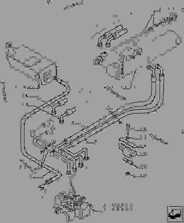 Parts scheme HYDRAULIC SYSTEM PIPING - TELESCOPIC HANDLERS Case TX842 - TELEHANDLER (5/06-12/15) 35 HYDRAULIC SYSTEMS HYDRAULIC SYSTEM PIPING | 777parts