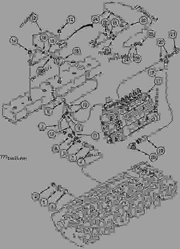 Parts scheme ANEROID AND WASTEGATE SYSTEM - CRAWLER EXCAVATORS Case 1288LC - CASE CRAWLER EXCAVATOR (S/N CGG0022201 & AFTER) (9/91-12/02) 04 ELECTRICAL SYSTEMS ANEROID AND WASTEGATE SYSTEM | 777parts