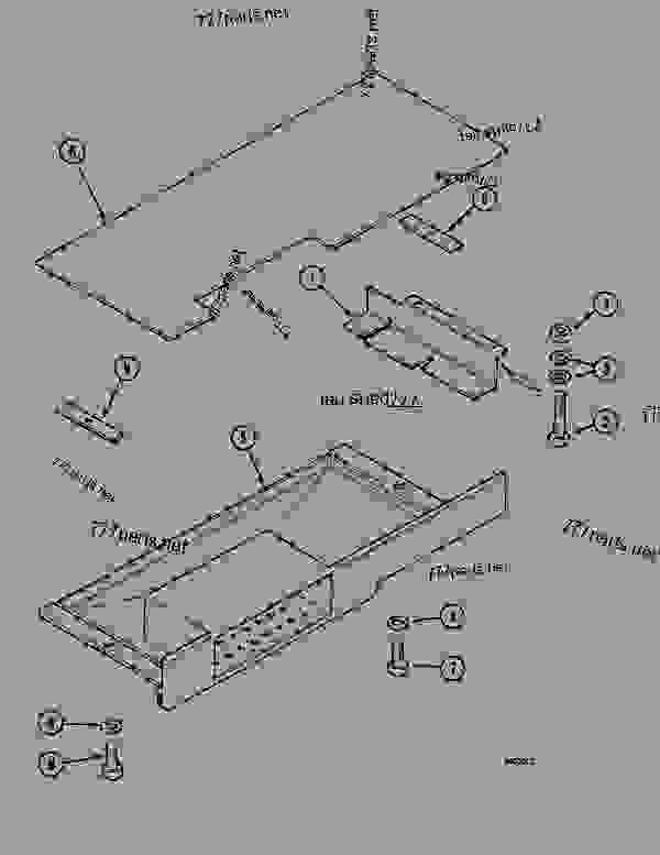 Parts scheme CAB FLOOR LOWER LOCK, 1088 P(8701-) / 1088 P4A(9701-) - CRAWLER DOZERS Case 1088P - CASE WHEELED EXCAVATOR (S/N 8701 & AFTER) (9/90-12/94) 05.1 UPPERSTRUCTURE CHASSIS/ATTACHMENTS CAB FLOOR LOWER LOCK, 1088 P(8701-) / 1088 P4A(9701-) | 777parts