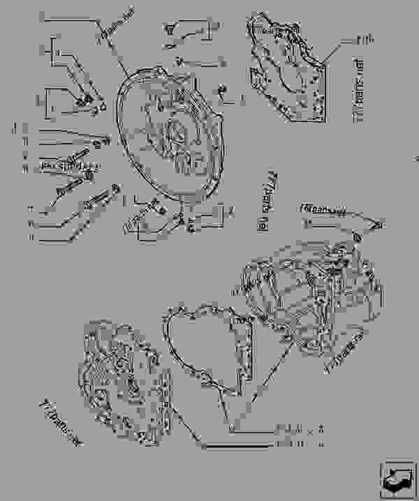 Parts scheme TRANSMISSION - COMPONENTS - TELESCOPIC HANDLERS Case TX170-45 - TURBO TELEHANDLER (3/05-12/14) 18 MISCELLANEOUS TRANSMISSION - COMPONENTS | 777parts