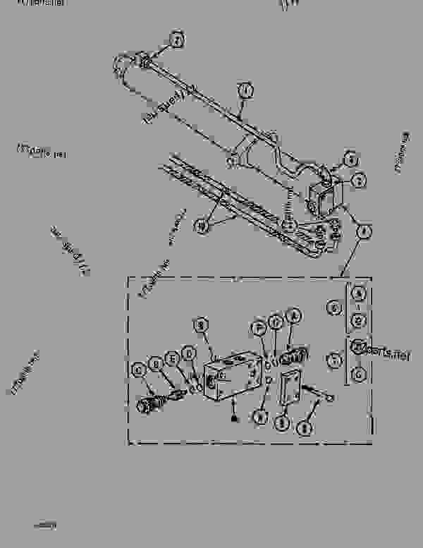 Parts scheme CYLINDER CIRCUIT - TELESCOPIC DIPPER (4.60M) - CRAWLER DOZERS Case 1088 - CASE EXCAVATOR - TELESCOPIC DIPPERSTICK (1/88-12/94) No Description CYLINDER CIRCUIT - TELESCOPIC DIPPER (4.60M) | 777parts