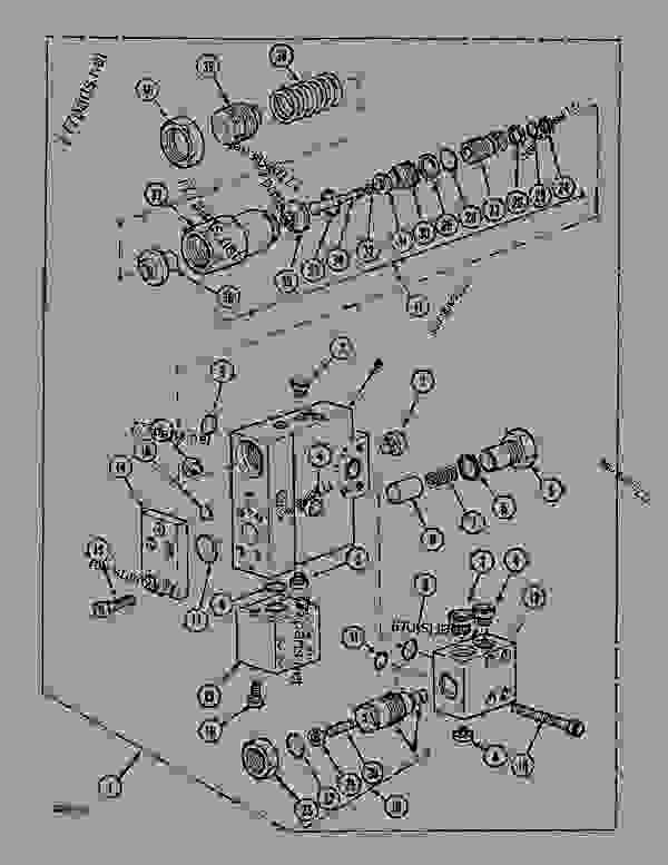 Parts scheme SAFETY VALVE - BOOM AND DIPPERSTICK - CRAWLER DOZERS Case 1088 - CASE WHEELED EXCAVATOR - P4A INDUSTRY (1/88-12/94) No Description SAFETY VALVE - BOOM AND DIPPERSTICK | 777parts