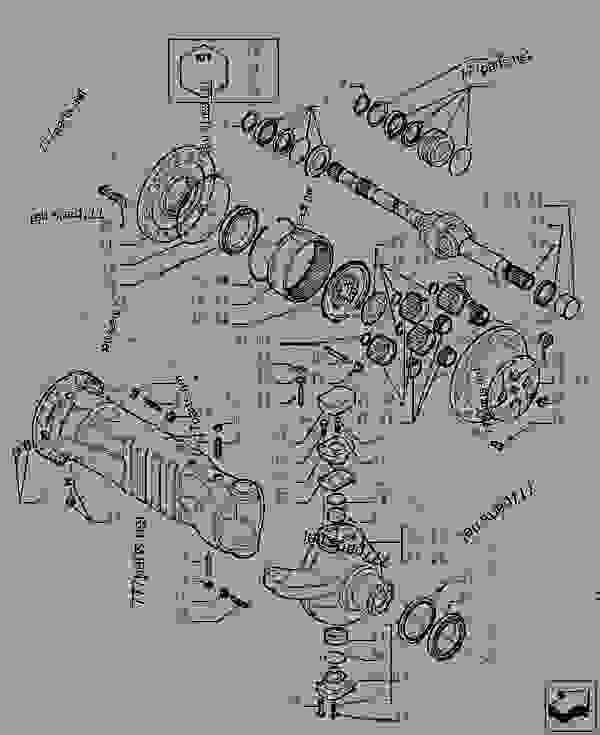 Parts scheme REDUCTION - REAR AXLE - TELESCOPIC HANDLERS Case TX945 - TELEHANDLER (5/06-12/15) 27 REAR AXLE SYSTEM REDUCTION - REAR AXLE | 777parts