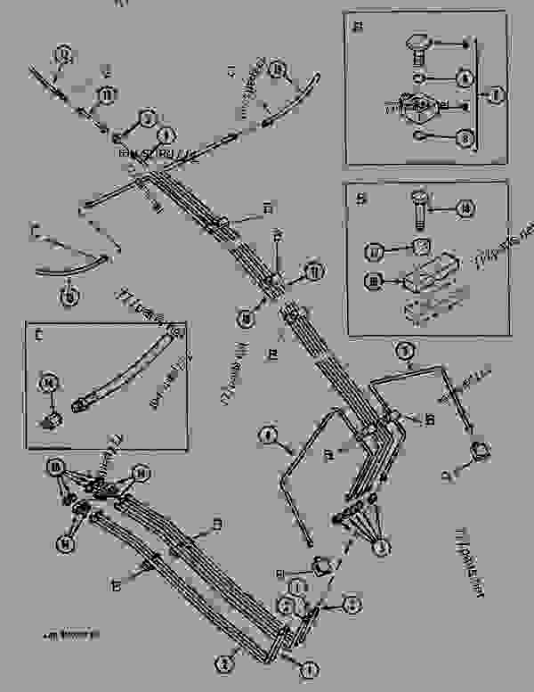 Parts scheme LUBRICATION CIRCUIT BOOM - CRAWLER DOZERS Case 1088 - CASE EXCAVATOR - LONG DITCH CLEANING ATTACHMENT (1/88-12/94) No Description LUBRICATION CIRCUIT BOOM | 777parts