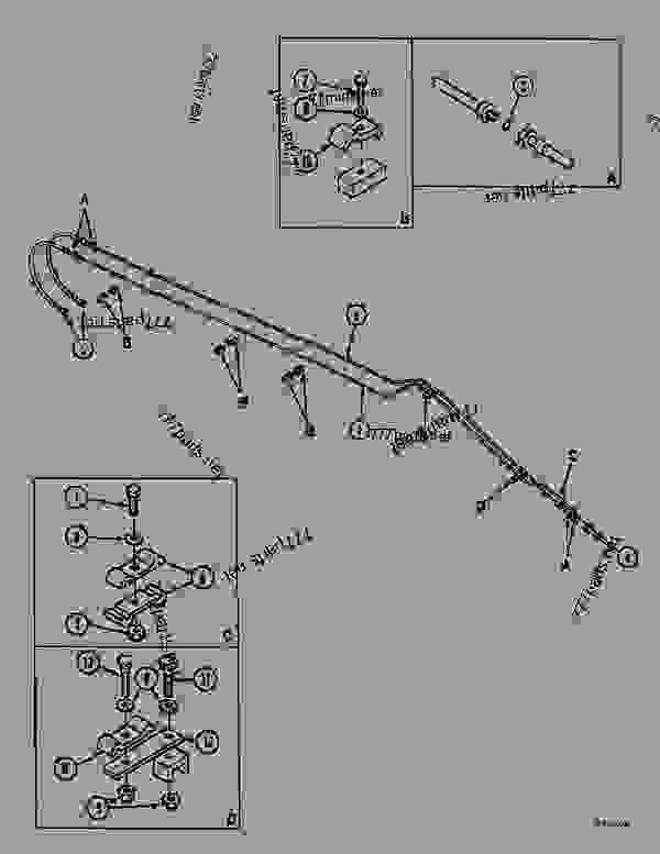 Parts scheme CLAMSHELL SWING FEED - HANDLING BOOM (6.00M), 1488 - CRAWLER EXCAVATORS Case 1488 - CASE EXCAVATOR - HANDLING ATTACHMENT (1/97-12/01) No Description CLAMSHELL SWING FEED - HANDLING BOOM (6.00M), 1488 | 777parts