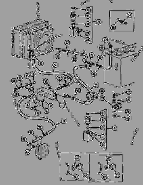 Parts scheme CIRCUIT - THERMOSTATIC CONTROLLED VALVE - CRAWLER DOZERS Case 1088CL - CASE HYDRAULIC CRAWLER EXCAVATOR (S/N 17601 & AFTER) (7/88-12/94) 07 HYDRAULIC SYSTEM CIRCUIT - THERMOSTATIC CONTROLLED VALVE | 777parts