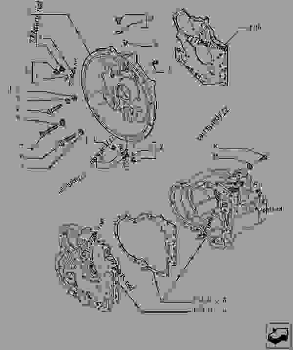 Parts scheme TRANSMISSION - COMPONENTS - TELESCOPIC HANDLERS Case TX170-45 TIER 3 - TELEHANDLER (TURBO) (6/07-12/14) 18 MISCELLANEOUS TRANSMISSION - COMPONENTS | 777parts