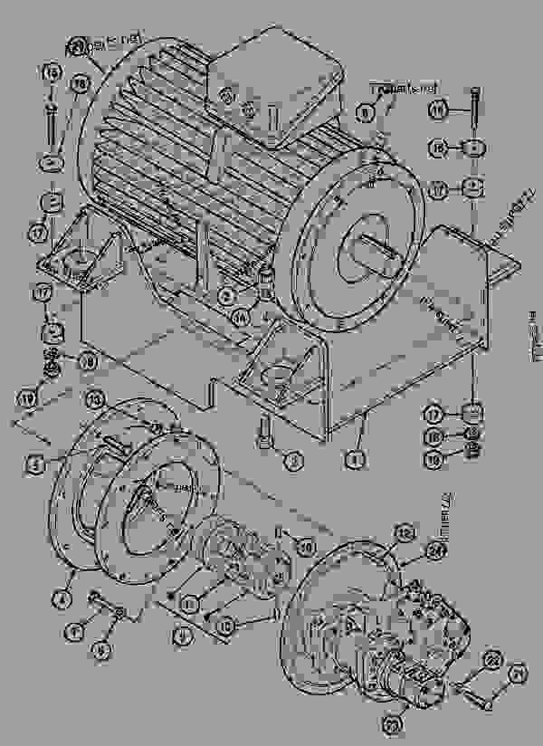 Parts scheme ENGINE MOUNTING - CRAWLER EXCAVATORS Case 1288FG - CASE EXCAVATOR - LONG-DISTANCE HANDLING (1/94-12/02) 18 MISCELLANEOUS ENGINE MOUNTING | 777parts