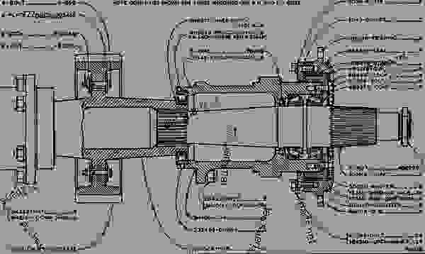 caterpillar 50 forklift parts diagram