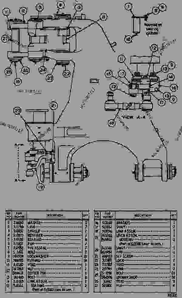 Parts scheme  HITCH AND STEERING  - WHEEL TRACTOR-SCRAPER Caterpillar 621 - 621 SCRAPER 37G00001-UP (MACHINE) 621 SCRAPER | 777parts