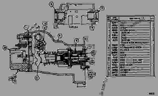 Parts scheme 2N2083 GOVERNOR GROUP  - ENGINE - GENERATOR SET Caterpillar 3160 - 3160 ENGINE (ELECTRIC SET) 67P00001-UP DIESEL ENGINE | 777parts