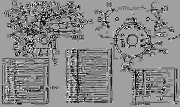 Parts scheme 4N3869 COVER AND HOUSING GROUP COVERS AND HOUSING GROUP - ENGINE - MACHINE Caterpillar 3160 - 3160 ENGINE 98M00001-UP DIESEL ENGINE | 777parts