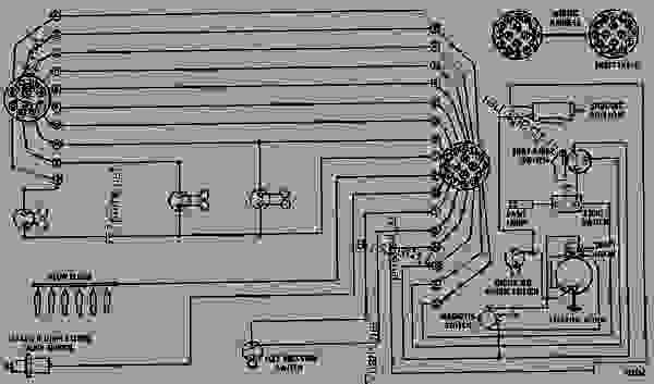 WIRING DIAGRAM WHEEL TRACTORSCRAPER Caterpillar 627 627 – John Deere 750 Wiring Diagram