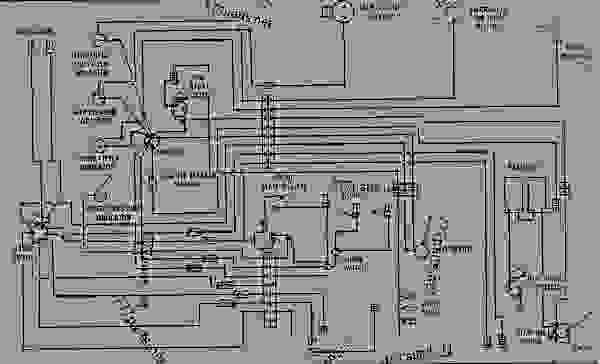 wiring diagram - earthmoving compactor caterpillar 825b