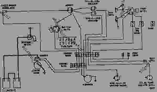 wiring diagram - track-type loader caterpillar 983