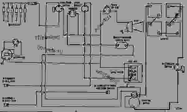 wiring diagram - motor grader caterpillar 120