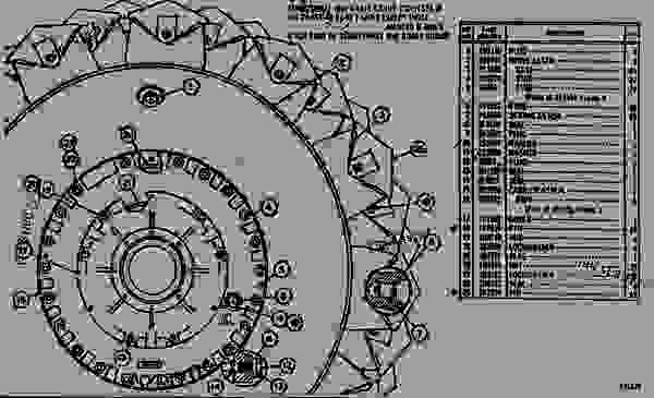 Parts scheme 8S9633 WHEEL AND BRAKE GROUP  - EARTHMOVING COMPACTOR Caterpillar 825B - 825B COMPACTOR 43N00001-00493 (MACHINE) TRANSMISSION AND CHASSIS | 777parts