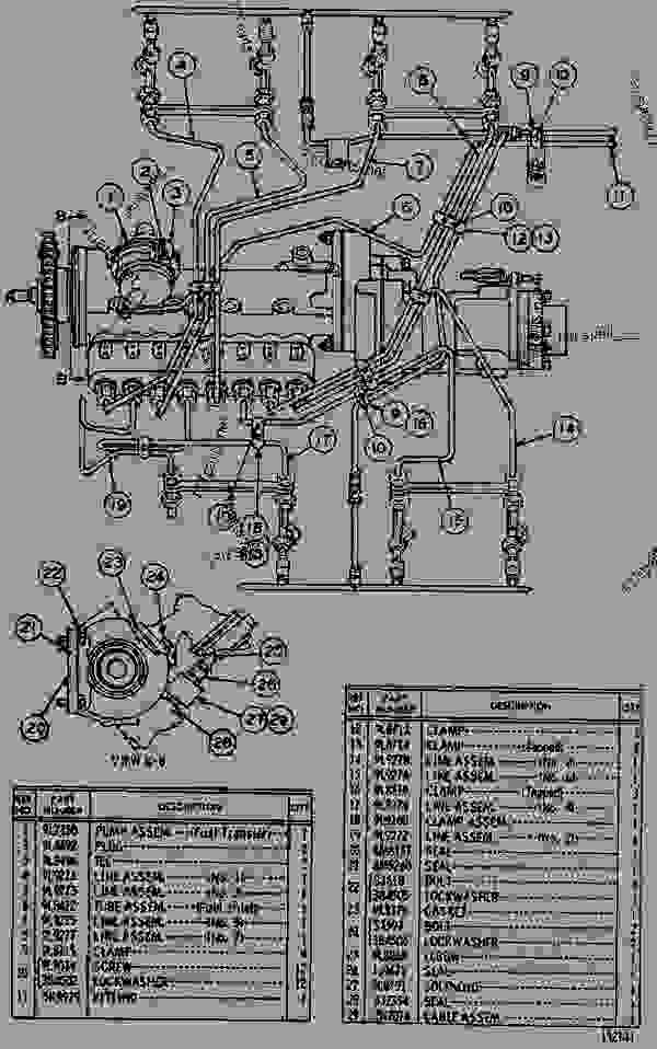 Parts scheme 2N2080 FUEL SYSTEM  - ENGINE - GENERATOR SET Caterpillar 3160 - 3160 ENGINE (ELECTRIC SET) 67P00001-UP DIESEL ENGINE | 777parts
