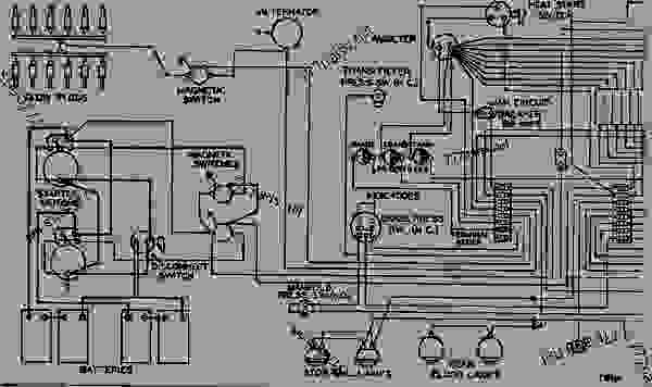 Wiring Diagram - Wheel-type Loader Caterpillar 992