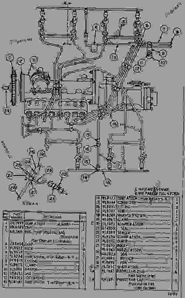 Parts scheme 2N2821 FUEL SYSTEM  - ENGINE - GENERATOR SET Caterpillar 3145 - 3145 ENGINE (ELECTRIC SET) 65P00001-UP DIESEL ENGINE | 777parts