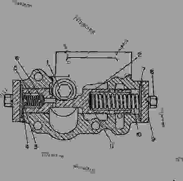Parts scheme 8P1471 VALVE GROUP-RELIEF  -TORQUE CONVERTER OUTLET - EARTHMOVING COMPACTOR Caterpillar 825 - 825C COMPACTOR 86X00001-00730 (MACHINE) POWERED BY 3406 ENGINE POWER TRAIN-POWER TRANSMISSION UNIT | 777parts