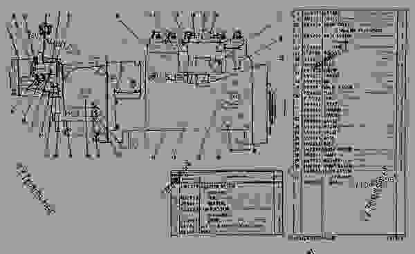 Parts scheme 6N0268 GOV & FUEL INJ PUMP GROUP  - EARTHMOVING COMPACTOR Caterpillar 815 - 3306 VEHICULAR ENGINE 91P00153-01101 (MACHINE) FUEL SYSTEM AND GOVERNOR | 777parts