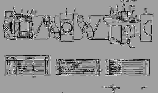 Parts scheme 7J7028 LIFT CYLINDER GROUP  - EARTHMOVING COMPACTOR Caterpillar 815 - 814S, 815 & 816 BULLDOZERS 24K00001-UP 814S, 815 & 816 BULLDOZERS | 777parts