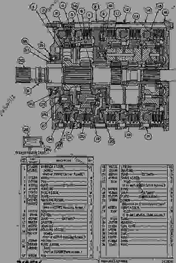 Parts scheme 1P5263 PLANETARY GROUP  - EARTHMOVING COMPACTOR Caterpillar 815 - 815 COMPACTOR 15R00408-UP (MACHINE) POWERED BY 3306 ENGINE POWER TRAIN--POWER TRANSMISSION | 777parts