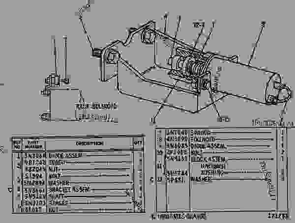 cat 3406 starter wiring diagram