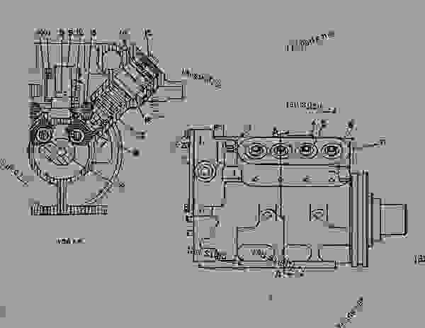 Parts scheme 7N6389 PUMP GROUP-FUEL INJECTION  - ENGINE - GENERATOR SET Caterpillar 3408B - 3408 GENERATOR SET ENGINE 78Z00001-01143 FUEL SYSTEM AND GOVERNOR | 777parts