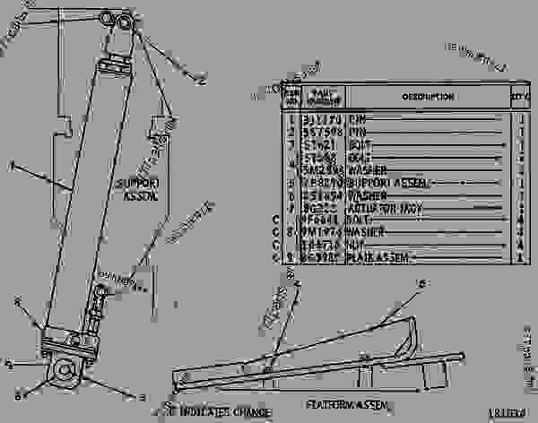 diagram undercarriage parts trucks