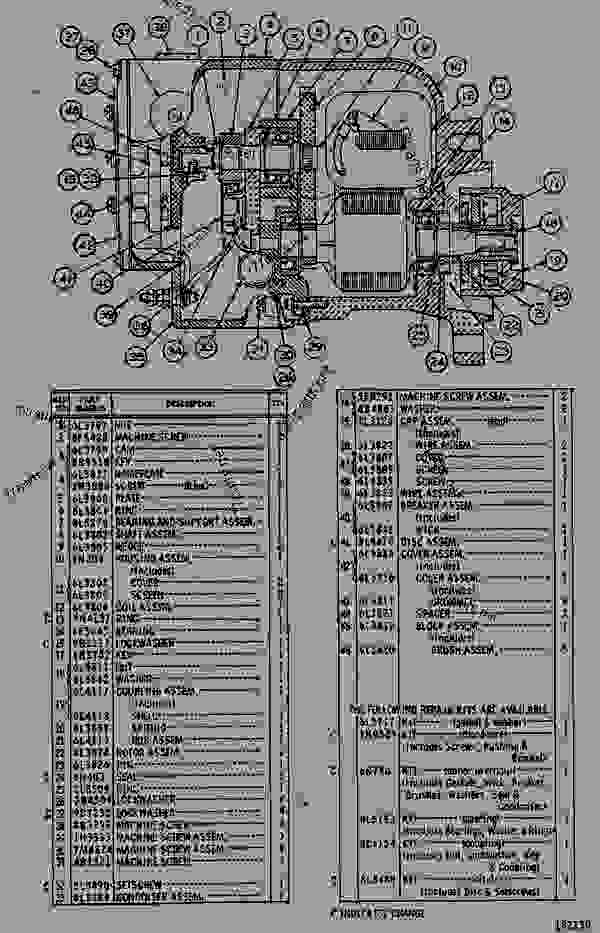 Parts scheme 7L3032 MAGNETO AS  - ENGINE - INDUSTRIAL Caterpillar G3304 - G3304 ENGINE 1RG00001-UP STARTING AND ELECTRICAL SYSTEM | 777parts