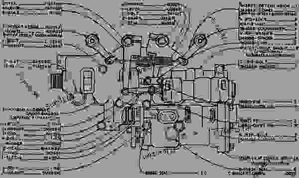 Wiring Diagram Tracktype Tractor Caterpillar 8d D8k Tractor If