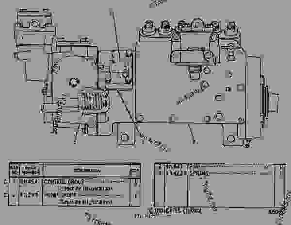 cat 3306 injection pump diagram
