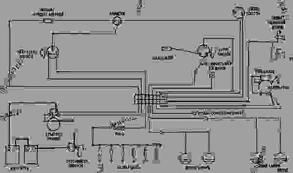 wiring diagram - track-type tractor caterpillar d8k