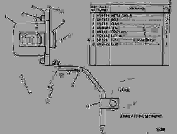 Parts scheme 4N4025 SERVICE METER GROUP   - EARTHMOVING COMPACTOR Caterpillar 816 - 3306 VEHICULAR ENGINE 57U00351-UP (MACHINE) FUEL SYSTEM AND GOVERNOR | 777parts