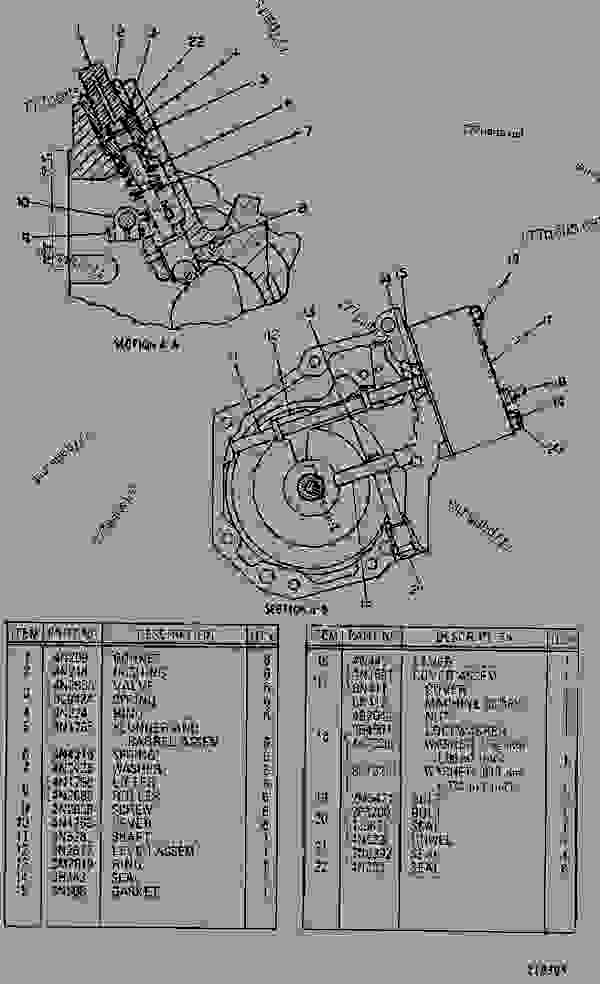 Parts scheme 4N1836 GOV & FUEL INJ PUMP GROUP  - EARTHMOVING COMPACTOR Caterpillar 815 - 3306 VEHICULAR ENGINE 91P00153-01101 (MACHINE) FUEL SYSTEM AND GOVERNOR | 777parts