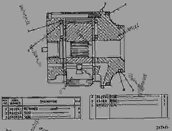 Parts scheme 3G2238 CARTRIDGE GROUP   - EARTHMOVING COMPACTOR Caterpillar 826B - 826B LANDFILL COMPACTOR 58U00001-UP (MACHINE) POWERED BY D343 ENGINE TRANSMISSION AND CHASSIS | 777parts